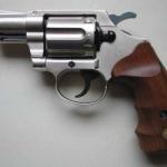 Umarex Colt Detective Special Nickel Wood Grips .380RK Blank gun