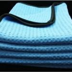 ผ้าไมโครไฟเบอร์ (เกรดพรีเมี่ยม)ซับน้ำเช็ดแห้ง แบบ Waffle Weave
