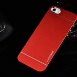เคสไอโฟน 6/6s เคสไอโฟน Hard Case กรอบอลูมิเนียมสีแดง