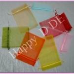 click ราคาด้านใน TCB-CH2535 ขนาด 25x35 cm.(9.8x13.7 นิ้ว) ถุงผ้าแก้ว ถุงผ้าไหมแก้ว (มีหลายสี)
