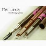 ดินสอเขียนคิ้ว สูตรWater Proof กันน้ำ Mei linda sweet หัวตัด