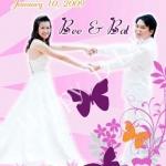 การ์ดแต่งงานรูปภาพ HDD-247
