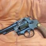Model cap gun S&W M1917