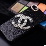 เคสไอโฟน 6/6s (Hard Case) เคสไอโฟนกากเพชรสีดำ ประดับ Channel เพชร