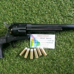 Tanaka Colt Single Action Army .45 Cavalary 7 1/2 inch Model Gun Black
