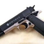 Umarex S&W Model 1911 A1 Front Firing 9mm.PAK. Blank Gun