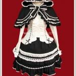 ชุดโกธิคโลลิต้า โอเฟเรีย สีดำ Black Oferia Gothic Lolita Separate