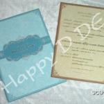 SCB0156 การ์ดแต่งงานแบบเรียบหรู
