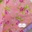 ผ้าคอตตอน100% 1/4ม. (50x55ซม.) พื้นสีส้มโอรส ลายดอกกุหลาบใหญ่ thumbnail 1
