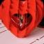 A03 การ์ดป๊อปอัพ หัวใจสานใส่รูปด้านในได้ thumbnail 4