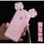 เคสไอโฟน 6Plus /6s Plus (TPU Case เคสนิ่ม) เคสใส ประดับหูมิกกี้เพชรชมพูขาว พร้อมสายห้อยคอ thumbnail 1