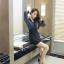 เดรสแฟชั่น ตัดสีทูโทน กับสไตล์ชุดแบบสาวเกาหลี ดูเด่น มีเอกลักษณ์มากๆ ค่ะ thumbnail 19