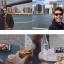 เคสไอโฟน7 (2 In 1 เคสไอโฟน+ไม้เซลฟี่ในตัว) (Hard Case Selfie Stick Protective Sleeve) สีชมพู ฟรี Remote Bluetooh thumbnail 6