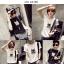 เสื้อยืดแฟชั่นสำหรับสาวๆ ผ้านิ่ม มีลายให้เลือกมากมาย และหลายขนาด SET2 thumbnail 9