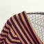 เสื้อยืดแฟชั่น คอวีเปิดไหล่ ลายขวางสลับสีแบบทูโทน แต่งด้วยตาข่ายดำ ดูมีสไตล์มากๆ thumbnail 26