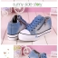 รองเท้าผ้าใบแฟชั่น ตัดเย็บสไตล์ผ้ายีนส์ เสริมพื้นนิดๆ เข้ากระแสที่กำลังมา thumbnail 6