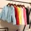 เสื้อคลุม สีสันจัดจ้าน มีให้เลือกเข้ากับชุดได้หลากสีไลายสไตล์ thumbnail 4