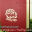 การ์ดป๊อปอัพ ดอกไม้สีแดง thumbnail 4