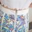 ชุดเซ็ทเสื้อเอวลอย พร้อมกระโปรงลายสวย สีสด น่ารักและลงตัวมากๆ thumbnail 2