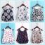 เสื้อแฟชั่นเกาหลีแขนกุด SET2 ลายสวย เบาสบายด้วยผ้าชีฟอง นา่ใสชิลๆ ในช่วง summer นี้จริงๆ thumbnail 1