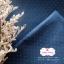 ผ้าลินิน 1/4 เมตร (50x65 cm.) สีกรมท่า ลายจุด thumbnail 5