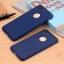 เคสไอโฟน 7 (Silicone Case) สีน้ำเงิน รุ่นป้องกันกล้อง+โชว์โลโก้แอปเปิ้ล thumbnail 7