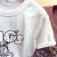 เสื้อยืดแฟชั่น สกรีนลายการ์ตูนยอดฮิต แต่งด้วยหมุดสีเงิน วิบวับสะดุดตา thumbnail 9
