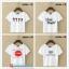 collection เสื้อยืดพื้นขาว สกรีนลายนิดๆ ดูสบายตา set 4 thumbnail 3
