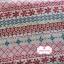 ผ้าแคนวาสญี่ปุ่น 100% 1/4 ม.(50x55ซม.) โทนสีแดง ลายดอกไม้ thumbnail 1