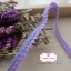 ลูกไม้แต่งปอมปอมเล็ก สีม่วง กว้าง 1 ซ.ม.แบ่งขายเป็นหลา (90ซม.) thumbnail 4