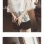 เสื้อลูกไม้แฟชั่นสวยๆ ใส่วัยไหนก็สวย มี 3 สีให้เลือกใส่ตามโอกาส thumbnail 3
