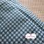 ผ้าคอตตอนไทย 100% 1/4 ม.(50x55ซม.) ลายตารางสีน้ำเงิน thumbnail 1