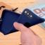 เคสไอโฟน 7 (Silicone Case) สีน้ำเงิน รุ่นป้องกันกล้อง+โชว์โลโก้แอปเปิ้ล thumbnail 8