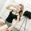 เสื้อแฟชั่นสาวเกาหลี สวยเซ็กซี่ ดูแซ่บมากค่ะสาวๆ เปลี่ยนสายเดี่ยวธรรมดา เป็นเซ็กซี่ขึ้นมาทันตา thumbnail 12