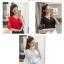 คอลเลคชั่นเสื้อแฟชั่นสตรี หลายแบบหลากสไตล์ ส่งท้ายปี 2017 - 678 thumbnail 23