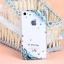 เคสไอโฟน 5/5s/SE (Case Iphone 5/5s/SE) เคสไอโฟนกรอบโปร่งใสประดับเพชร และแมงปอสีฟ้า thumbnail 2