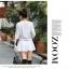 เดรสสั้นเกาหลี แขนยาว ลายดอกไม้สวยหวาน เข้ากับชุดสีพื้นได้อย่างลงตัว thumbnail 18