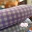 ผ้าคอตตอนไทย 100% 1/4เมตร (50x55ซม.) ลายตาราง โทนสีม่วง thumbnail 3