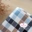 ผ้าคอตตอนลินิน 1/4ม.(50x55ซม.) ลายตาราง โทนสีน้ำตาล thumbnail 1