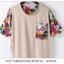 เสื้อยืดแฟชั่นเกาหลีพิมพ์ลายใหม่ จะใส่เป็นเสื้อหรือว่าจะเป็นเดรสสั้น ก็เก๋ไม่ซ้ำใคร thumbnail 10