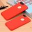 เคสไอโฟน 6Plus/6sPlus (Silicone Case) สีแดง รุ่นป้องกันกล้อง+โชว์โลโก้แอปเปิ้ล thumbnail 1