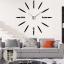 นาฬิกาDIY ขนาดจัมโบ้90cm สีเงิน big4B thumbnail 5