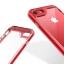เคสไอโฟน 6Plus/6sPlus (TPU + PC ) ขอบสีแดง หลังใส thumbnail 3
