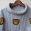 เสื้อกันหนาวแฟชั่น ปักลายตุ๊กตาหมีน่ารักๆ ลงตัวกับทรงคอเต่ามากๆ thumbnail 11