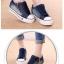 รองเท้าผ้าใบแฟชั่น ตัดเย็บสไตล์ผ้ายีนส์ เสริมพื้นนิดๆ เข้ากระแสที่กำลังมา thumbnail 5
