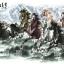 ภาพม้ามงคล8ตัวมีภูเขา 65*135cm cnn01 thumbnail 2