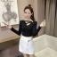 เสื้อแขนยาวแฟชั่นเกาหลี ทรงสวย คอเสื้อเก๋ๆ เข้าหุ่นพอดี เสริมรูปร่างให้สาวๆ มีสัดส่วนขึ้น thumbnail 38