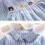 ชุดเสื้อสำหรับเด็ก ลายตรงสีสวยๆ ขนาดมีให้เลือกหลายไซด์ thumbnail 13