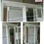 ตู้โชว์ราวเเขวนสูง 2 ราว วินเทจกุหลาบ สีขาว สำหรับบ้าน ร้านค้า thumbnail 4