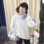 เสื้อกันหนาวแฟชั่น ดีไซน์แบบใส่ทับ 2 ตัว สวยเก๋ แบบสาวยุคใหม่ thumbnail 7